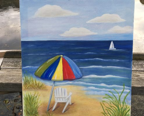 A Day at the Beach by Gail Tefft Artz ADP