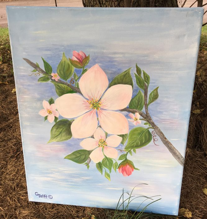 pple Blossom by Gail Tefft Artz