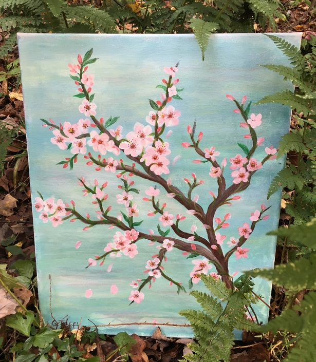 Cherry Blossoms by Gail Tefft Artz ADP