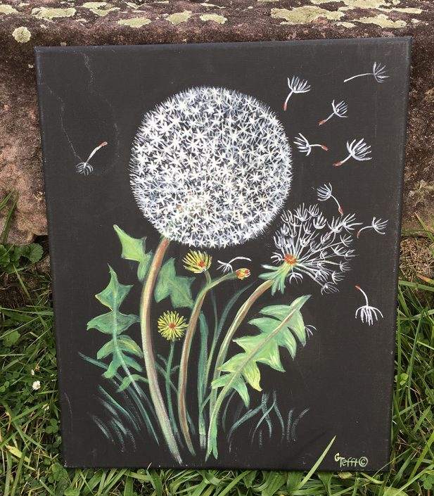 Dandelion Wish by Gail Tefft Artz ADP