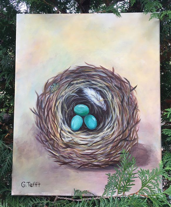 Nest by Gail Tefft Artz ADP