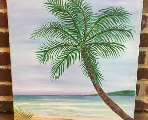 Palm by Gail Tefft