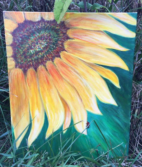Sunflower by Gail Tefft Artz ADP