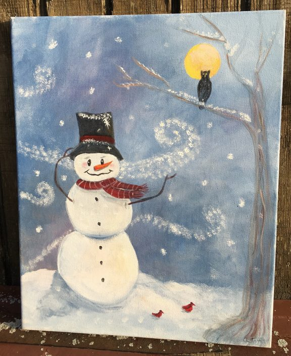 The Happy Snowman by Gail Tefft