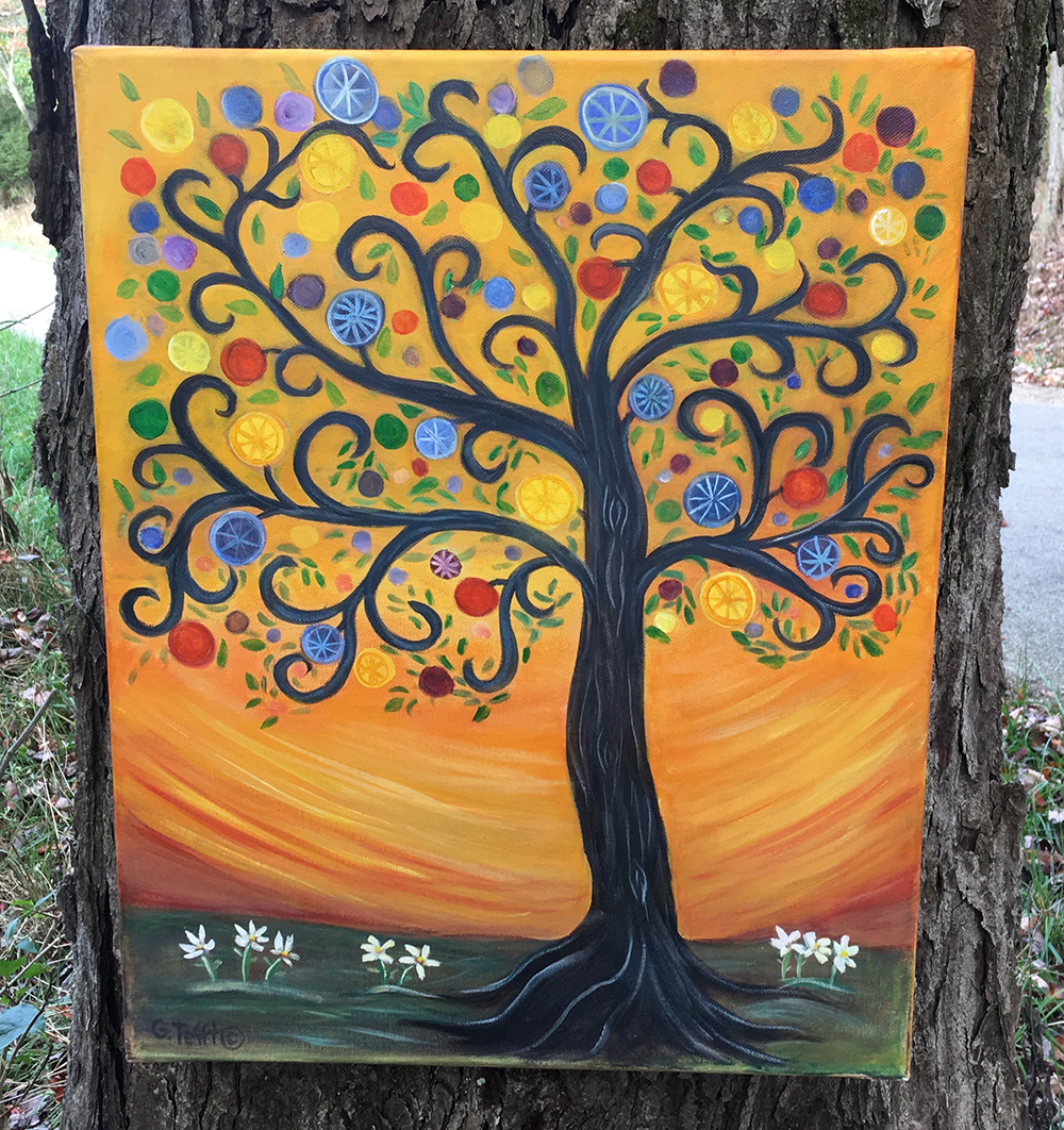 Whimsical Tree by Gail Tefft Artz ADP